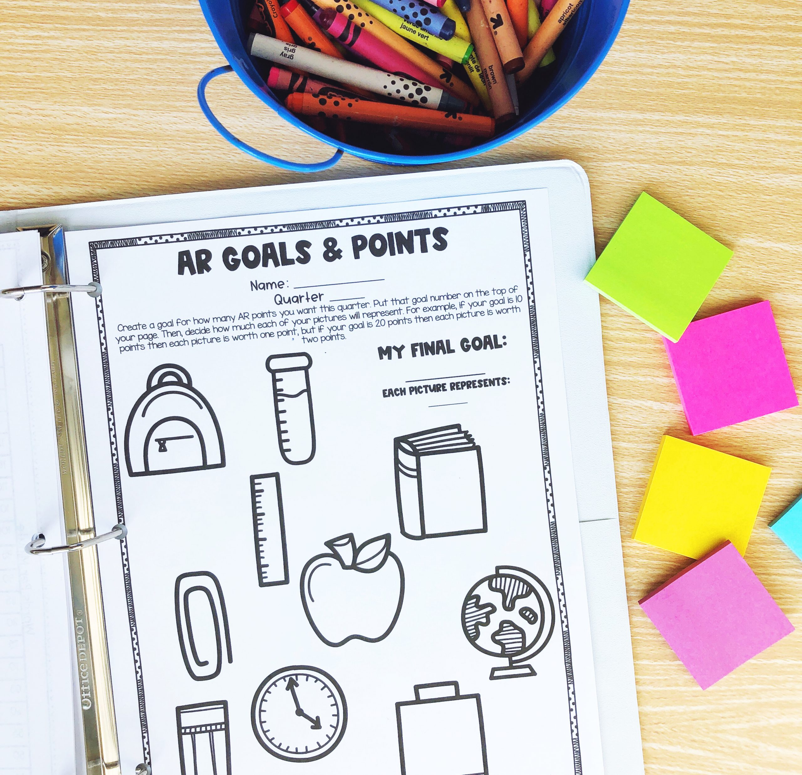 Goal Binder Free Resource