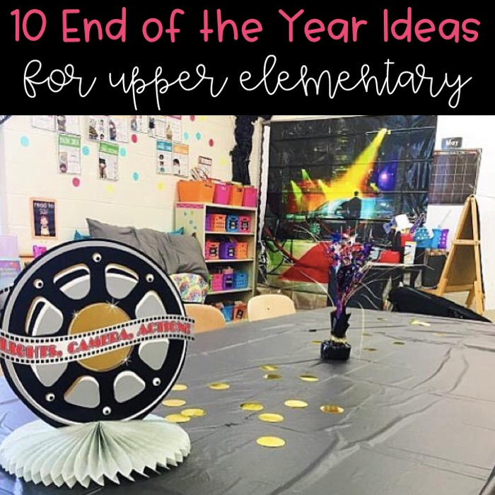 10 Ideas for the End of the Year!