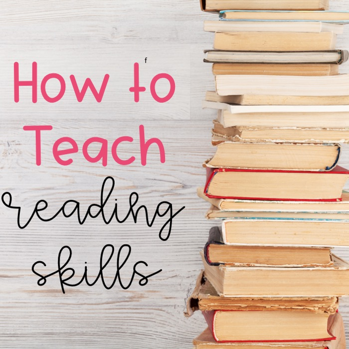 How to teach reading skills in an engaging and hands-on way.
