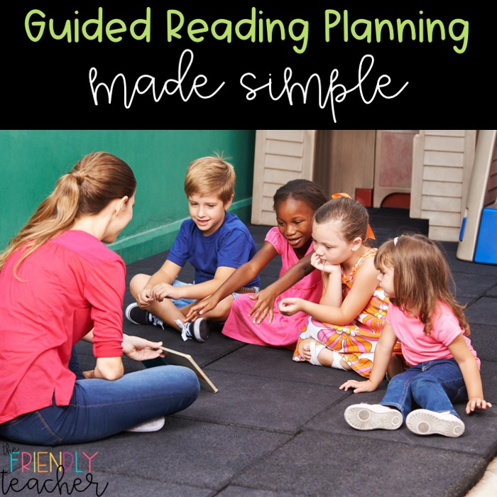 Guided reading planning made simple with these easy steps.