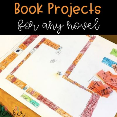 Motivating Readers with Book Projects for Any Novel
