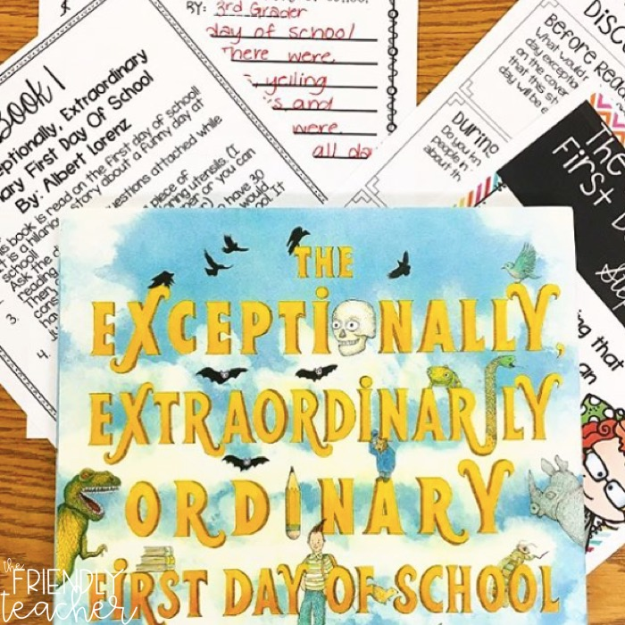 Back to school tips and ideas for upper elementary
