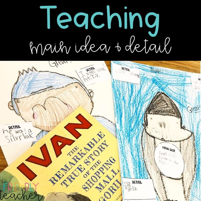 Teaching main idea in an engaging, rigorous, and hands-on way for your upper elementary students.