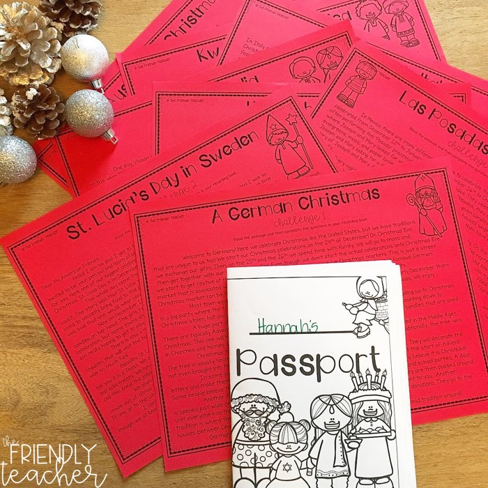 Engaging your students in rigorous activities in your upper elementary classroom in the month of December.