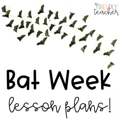 Bat week lesson plans for FREE!