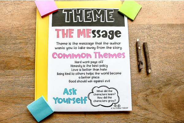 Tips for Teaching Theme