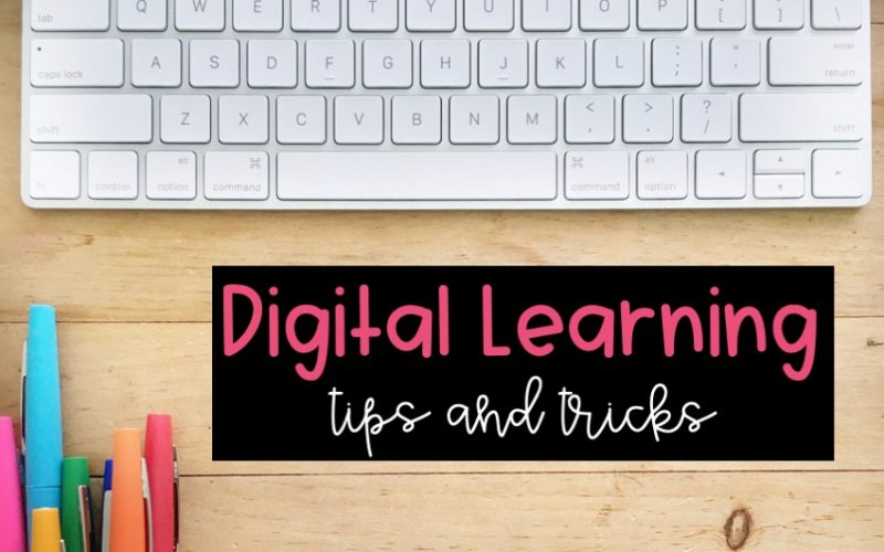 Digital Learning Tips