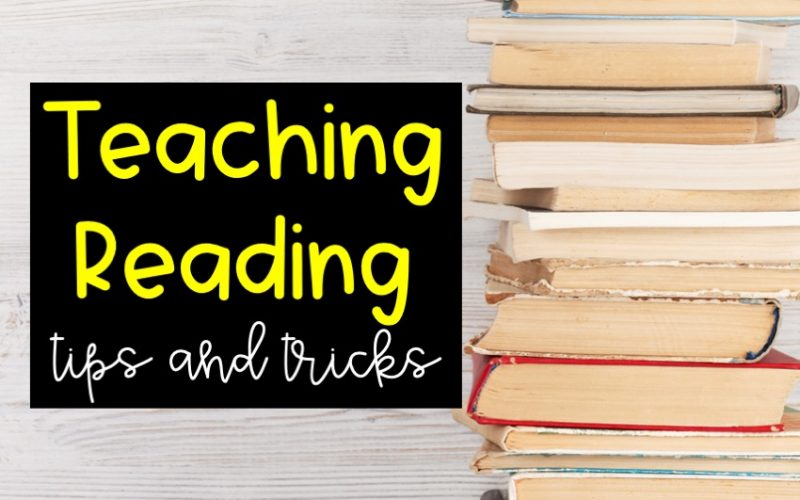Teaching Reading Tips