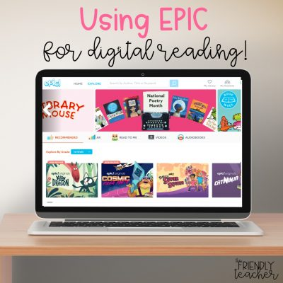 Ways to use EPIC in the classroom