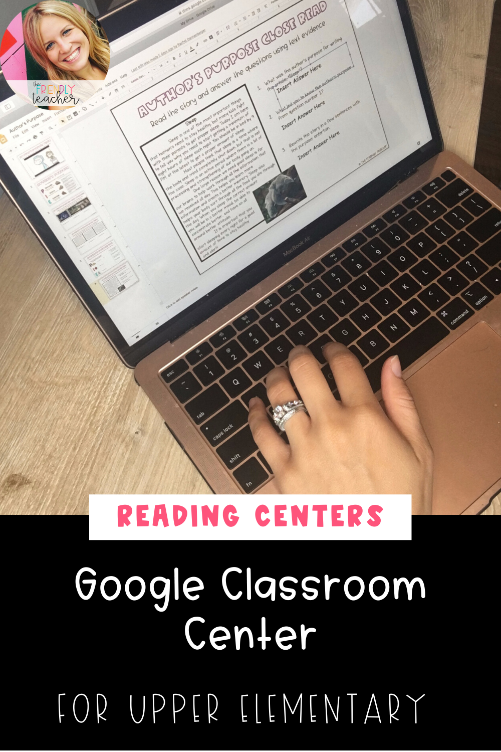 Using Google Classroom in Centers