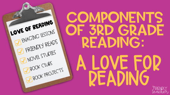a love for reading