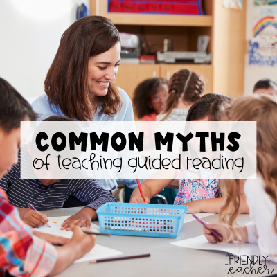 Common Myths of teaching Guided Reading
