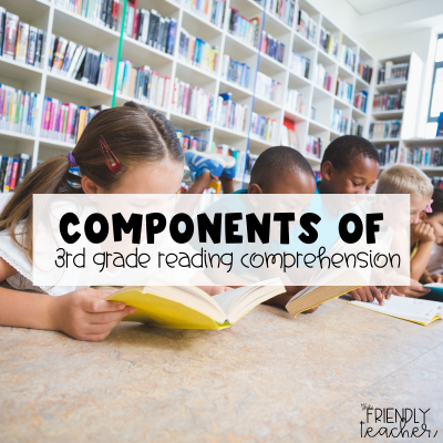 Components of 3rd grade reading comprehension