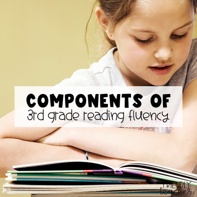 components of 3rd grade reading fluency