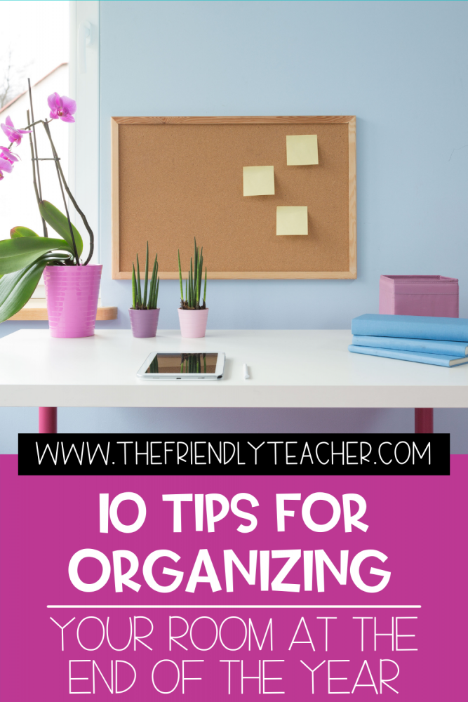 tips for organizing before summer