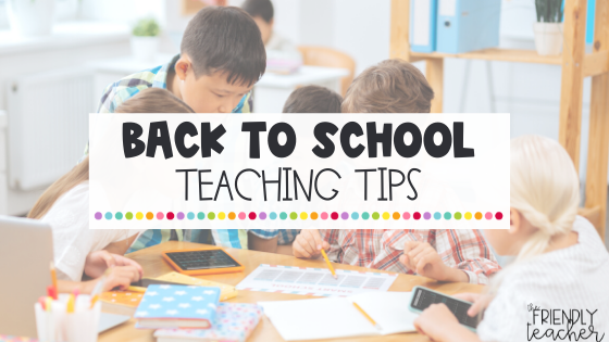 beginning of the year tips