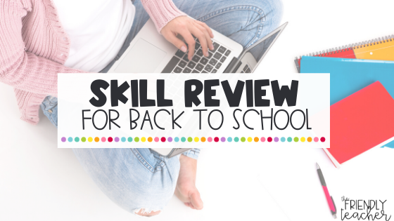 reviewing at back to school