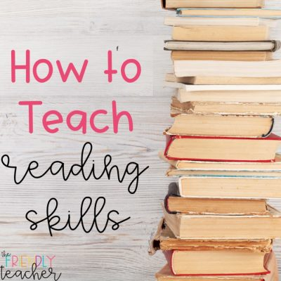 How to Teach Reading Skills